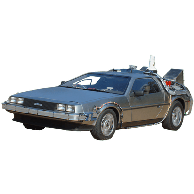 banner delorean vector transparent #111271290