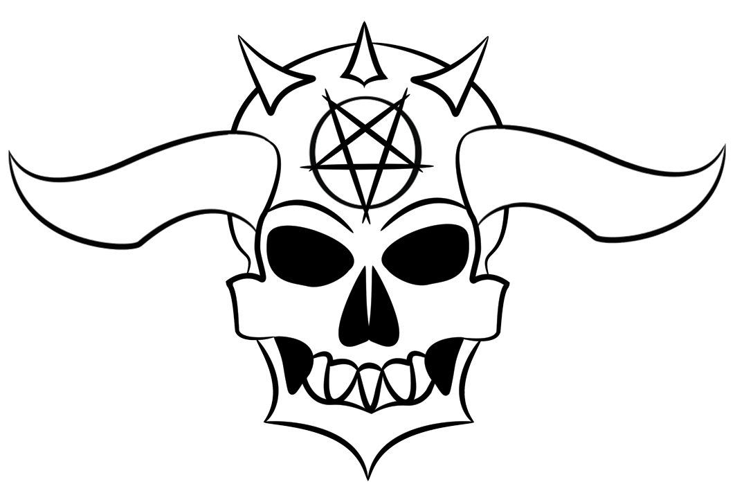 image free download Demon vector. Skull drawing at getdrawings
