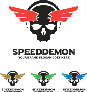 image transparent Speed logo eps free. Demon vector