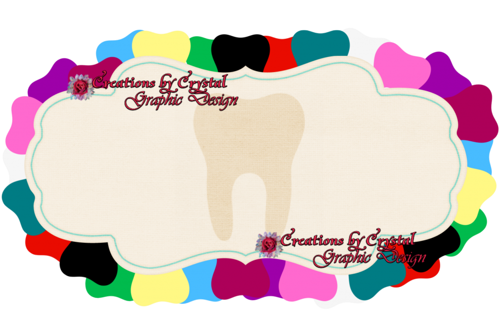 clip transparent stock Dental clipart borders. Custom of my design