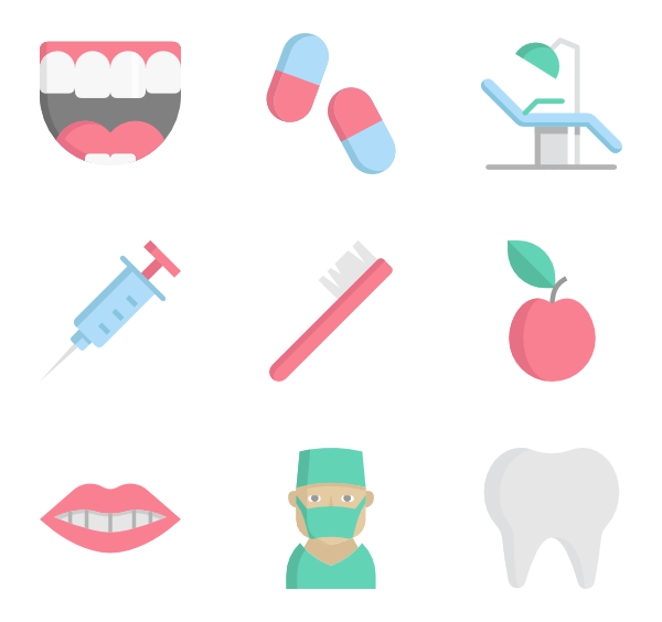 picture freeuse stock Tooth icons free dentist. Vector dental