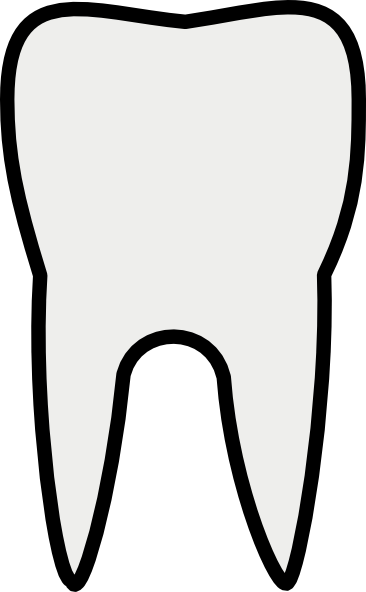 transparent stock Dental teeth clipart black and white free images