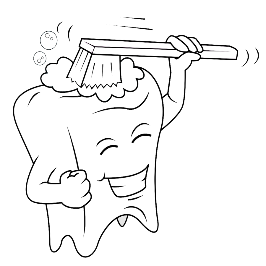 clipart transparent download Drawing tooth kid.  collection of dentist