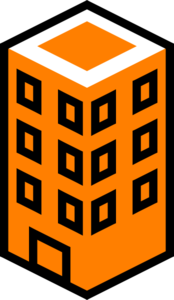 banner free library Office building orange clip. Department clipart