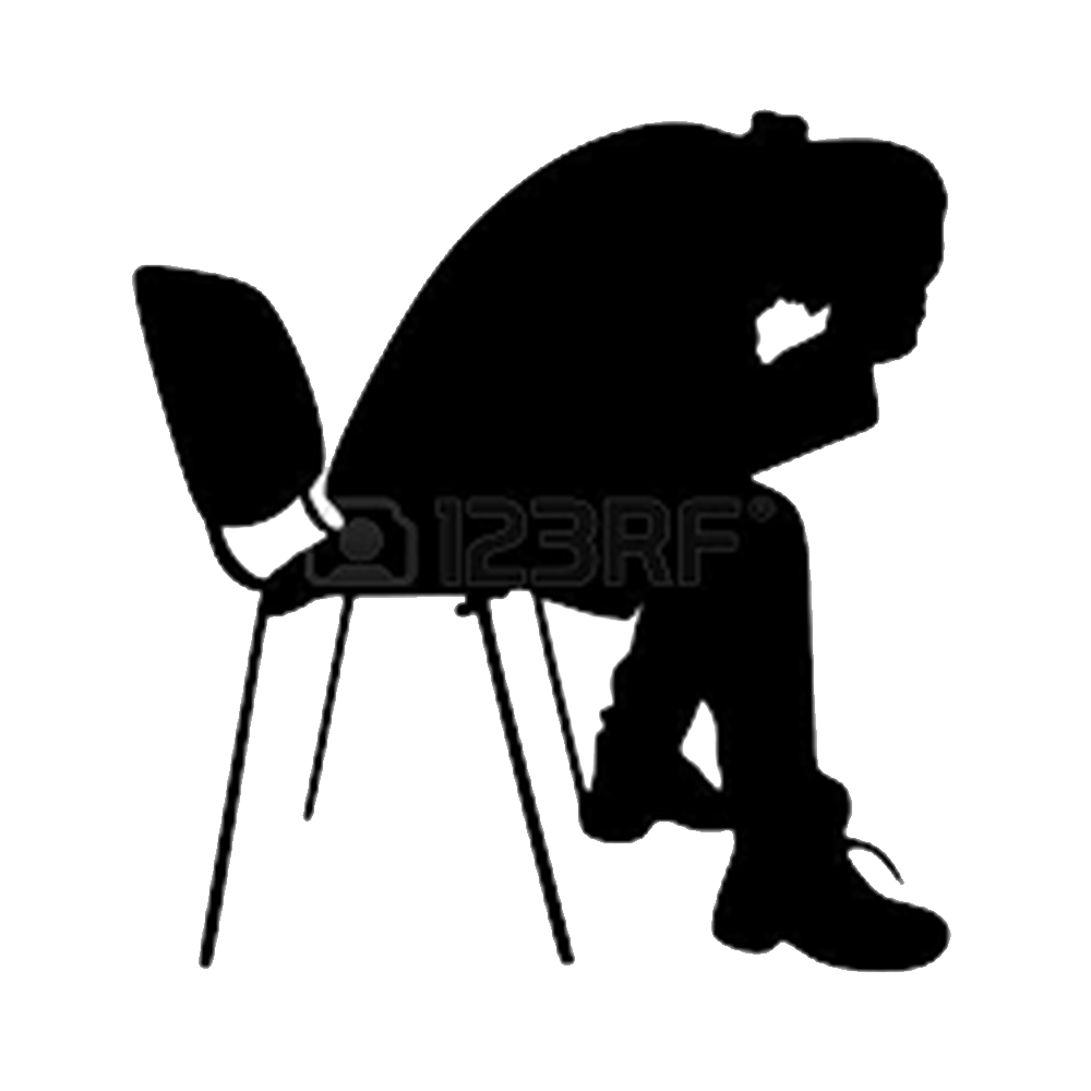 image black and white download Computer icons sadness clip. Depression clipart.