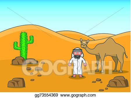 clipart royalty free stock Vector art buddy drawing. Desert clipart