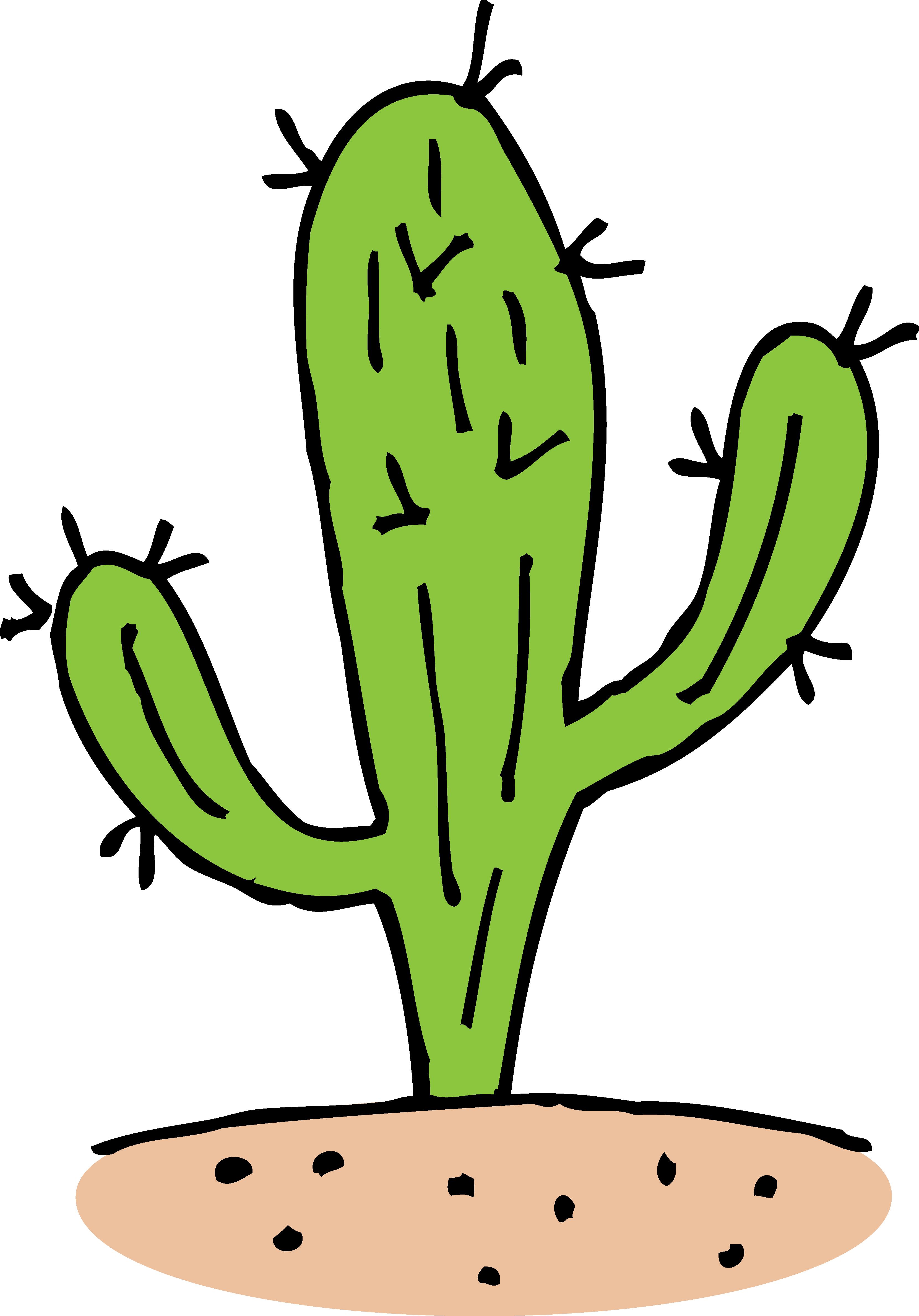 svg library stock Free Cartoon Cactus