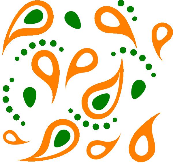svg transparent download Paisley clipart paisley pattern. Clip art at clker