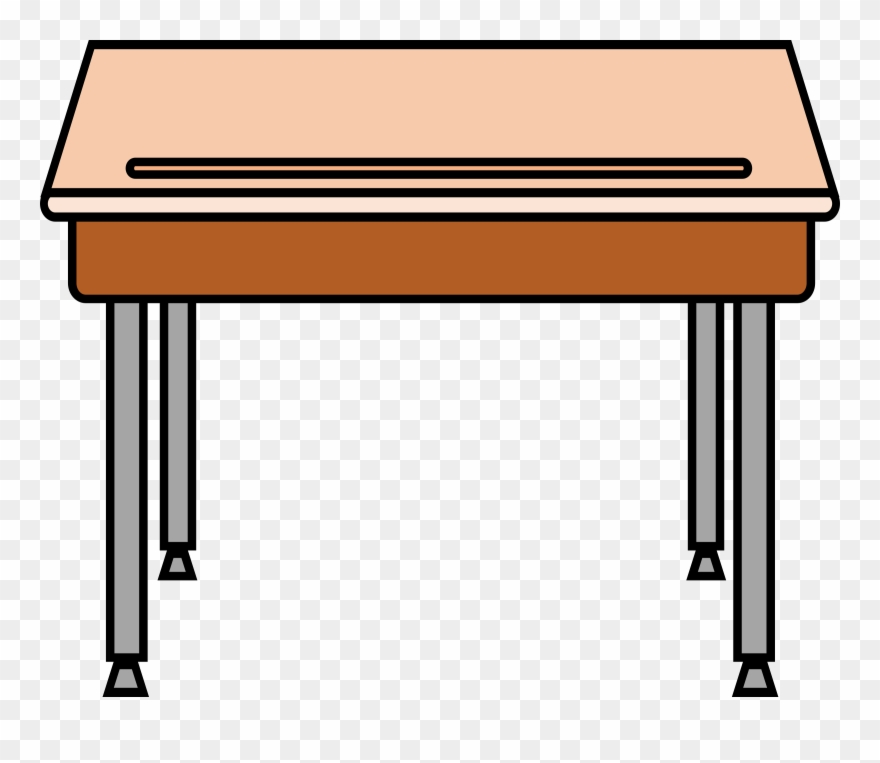 clip black and white stock Desk clipart. School cliparts free download