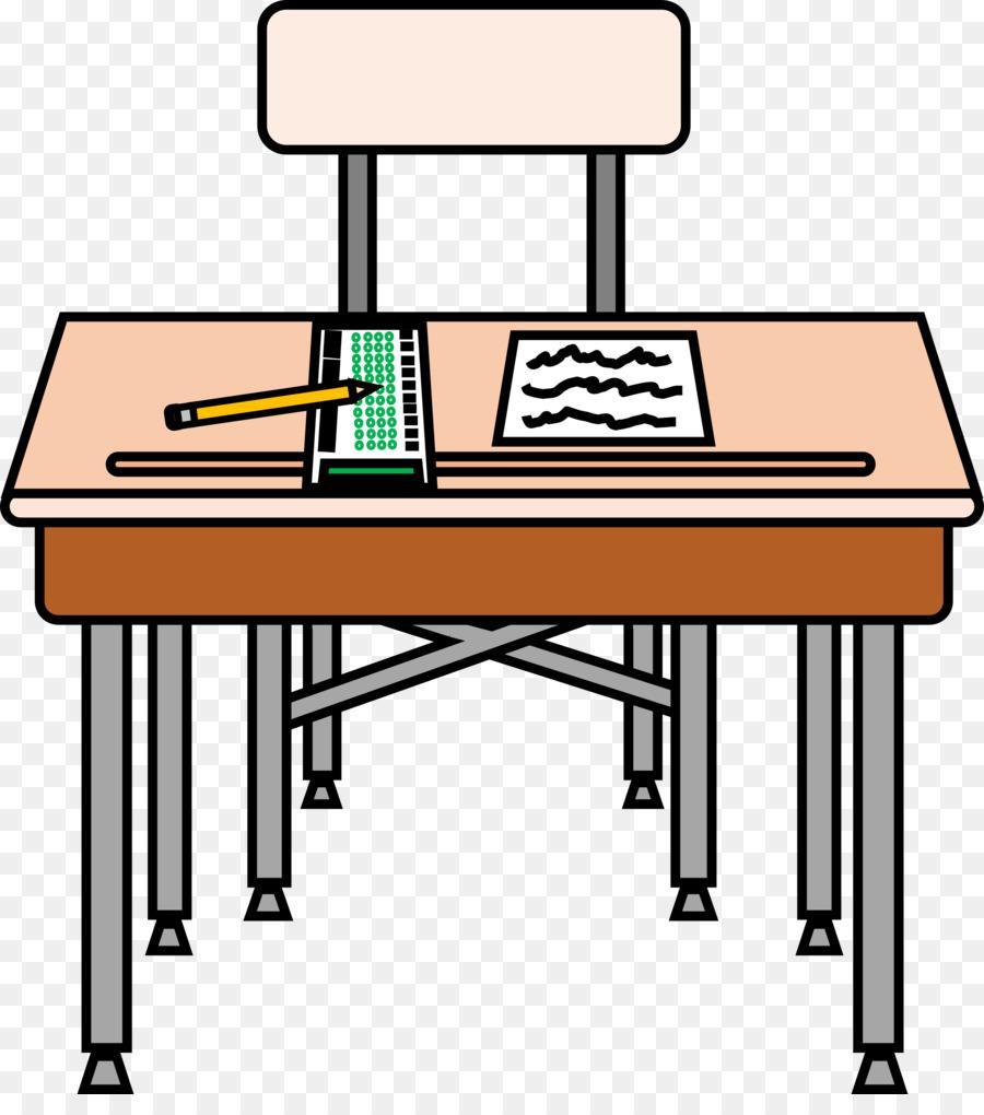 clip art freeuse stock School table pencil transparent. Desk clipart.