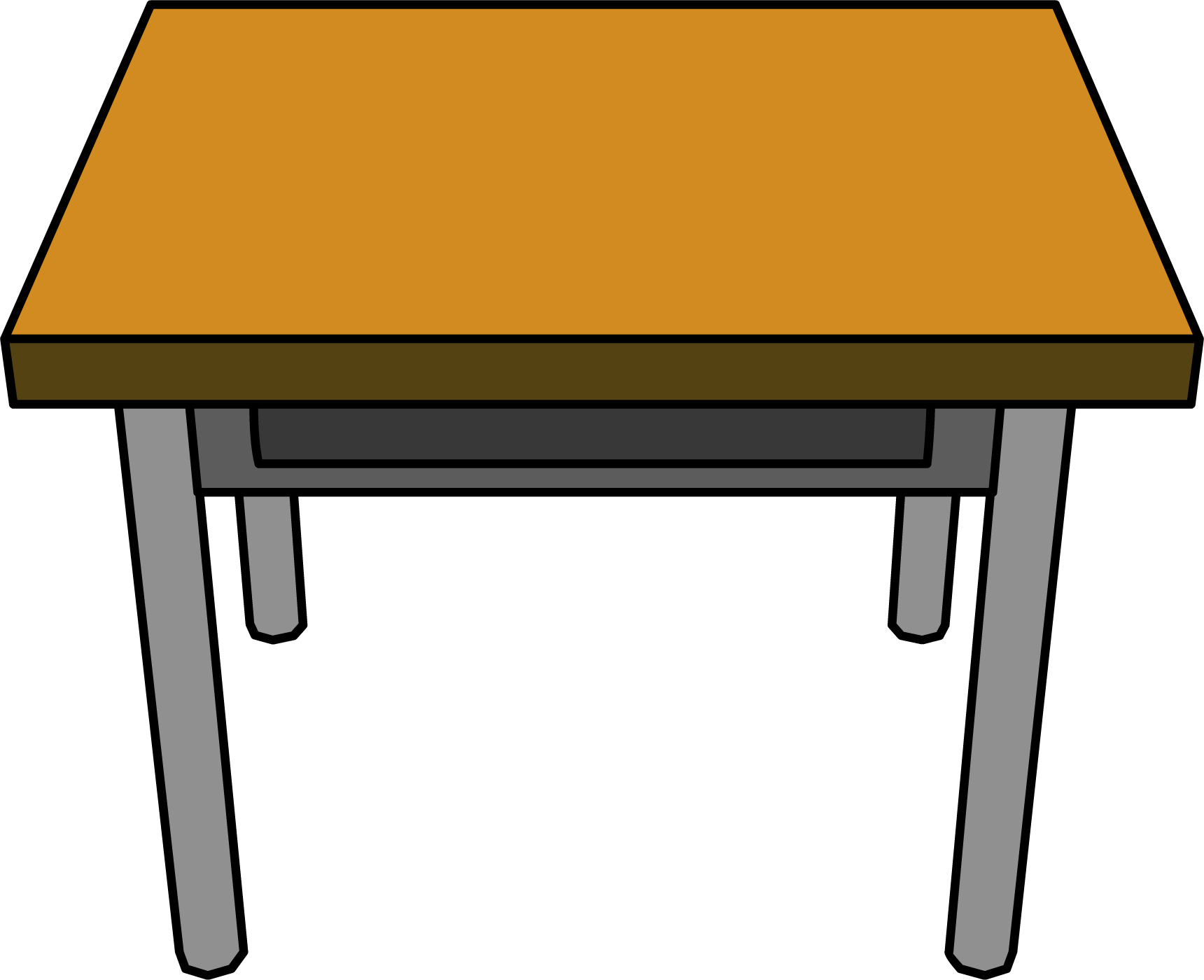 graphic royalty free Desk Drawing transparent PNG