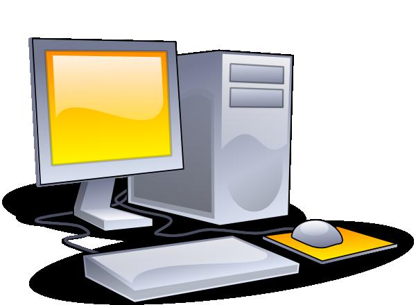 svg black and white Desktop computer clip art. Pc clipart