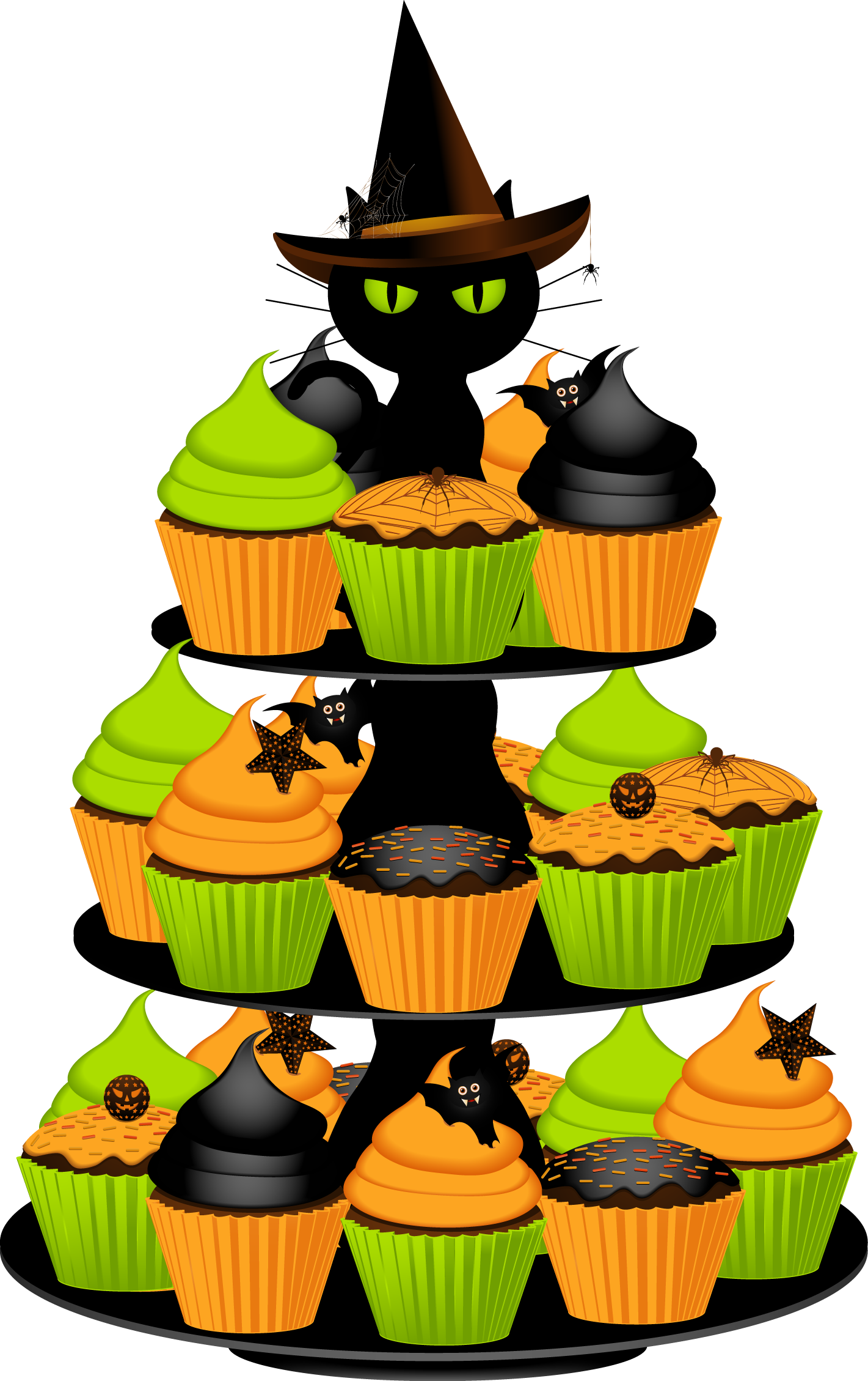 jpg transparent library Clip art download happy. Halloween clipart food