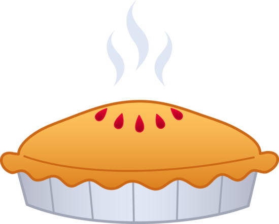 image black and white library Tasty Pie Clip Art