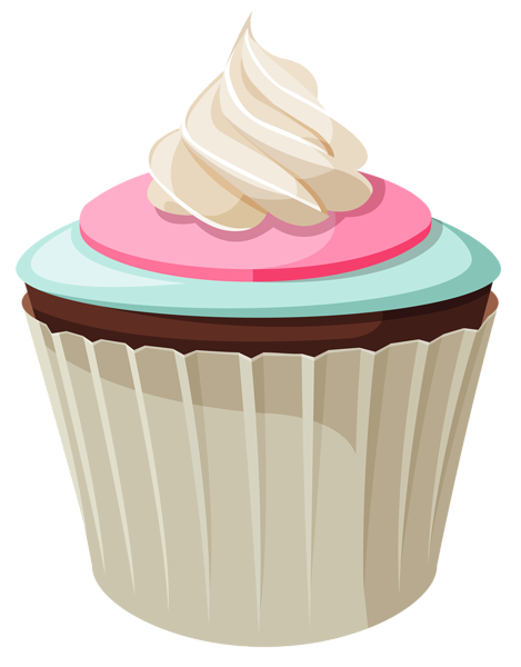 graphic library Mini cake png picture. Muffins clipart january.