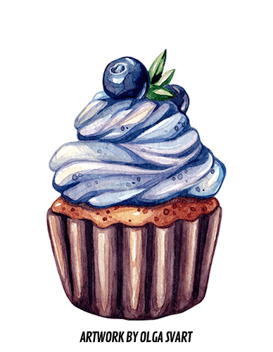 vector royalty free download Dessert drawing. Creators fanzine food for.