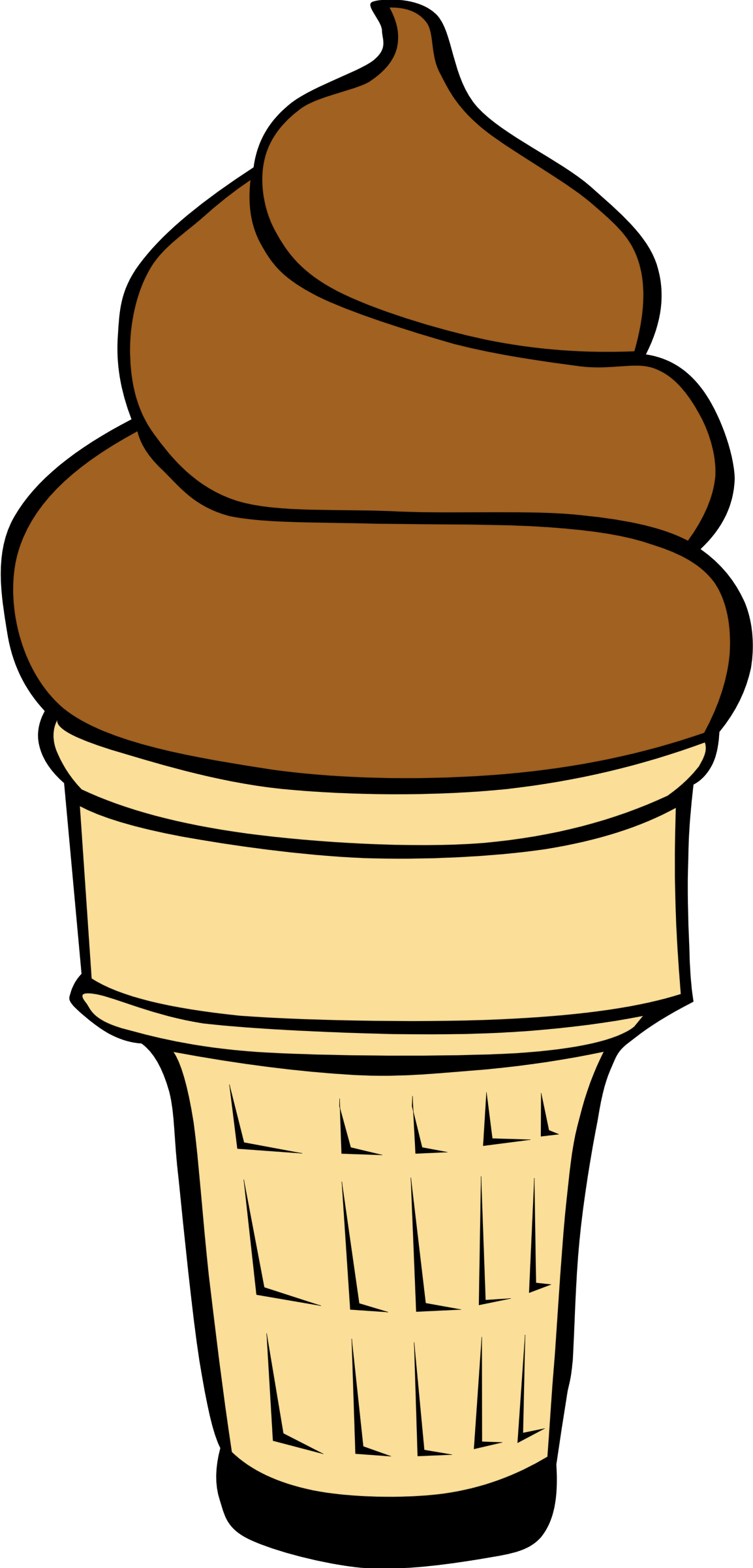 vector stock Fast food ice cream. Desserts clipart