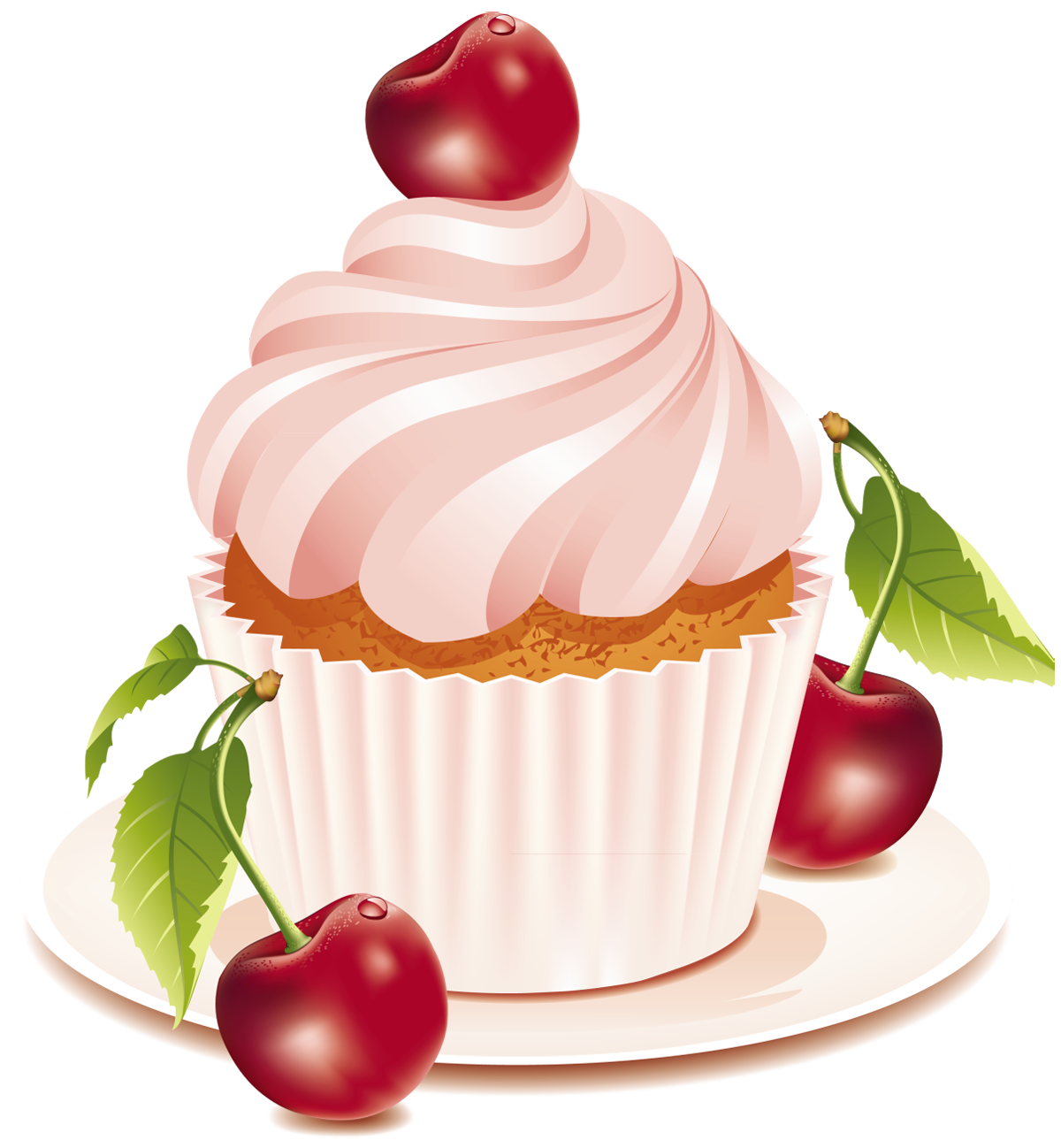 royalty free download Desserts clipart. Cherry cake png gallery