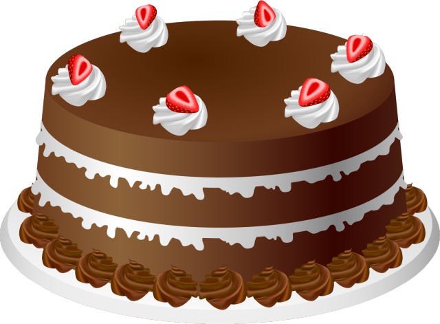 graphic free stock Cake Clip Art Free