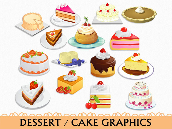graphic library stock Cake clip art graphic. Desserts clipart kitchen