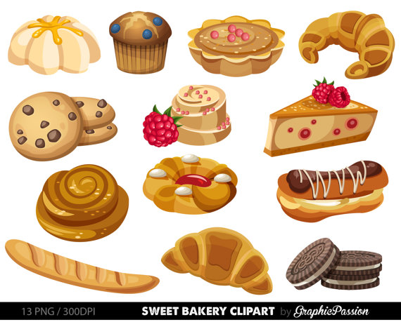 vector royalty free library Bakery sweet treat clip. Desserts clipart pastry.