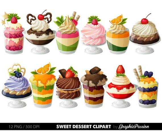 clipart download Digital cake clip art. Desserts clipart pastry.
