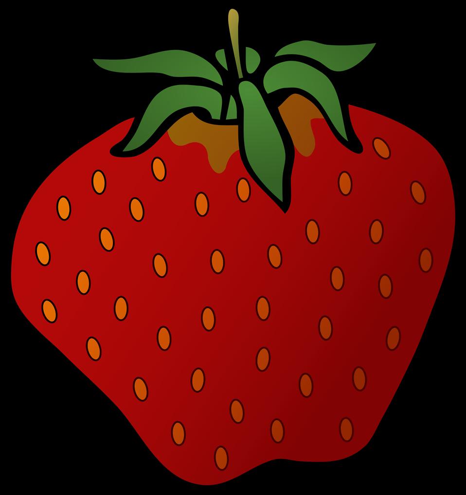 svg transparent download Strawberry