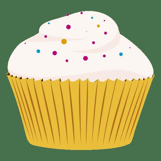 vector library Vector donut cupcake. Vanilla illustration transparent png
