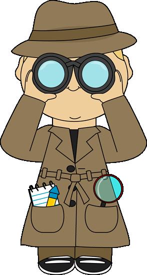 free stock Detective clip art images. Binoculars clipart lookout.