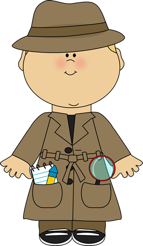 jpg royalty free download Detective clipart. Clip art images boy