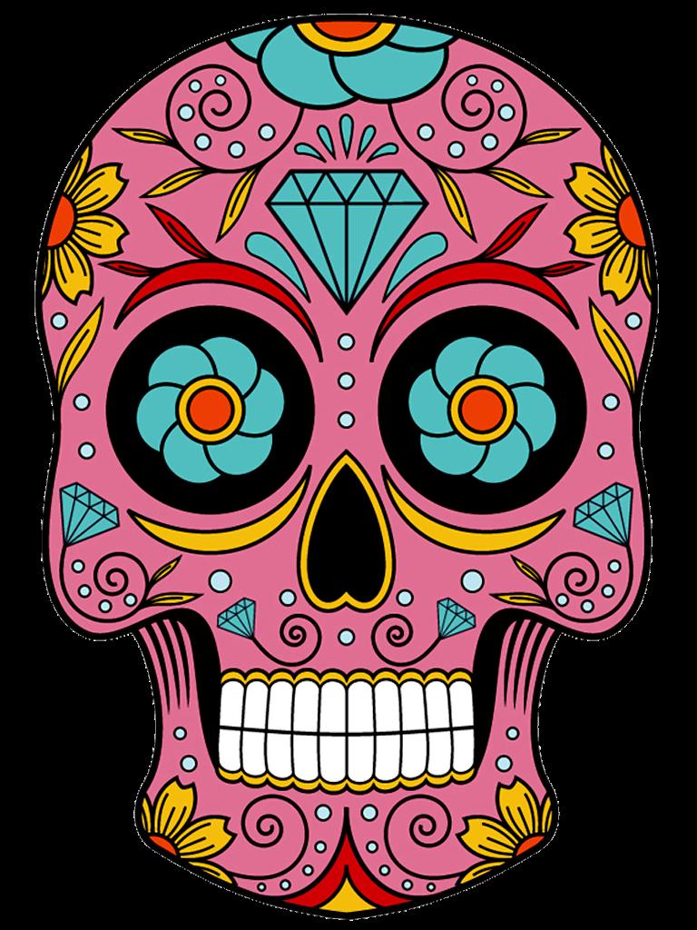 picture transparent library Sugar skull clipart. Resultado de imagem para