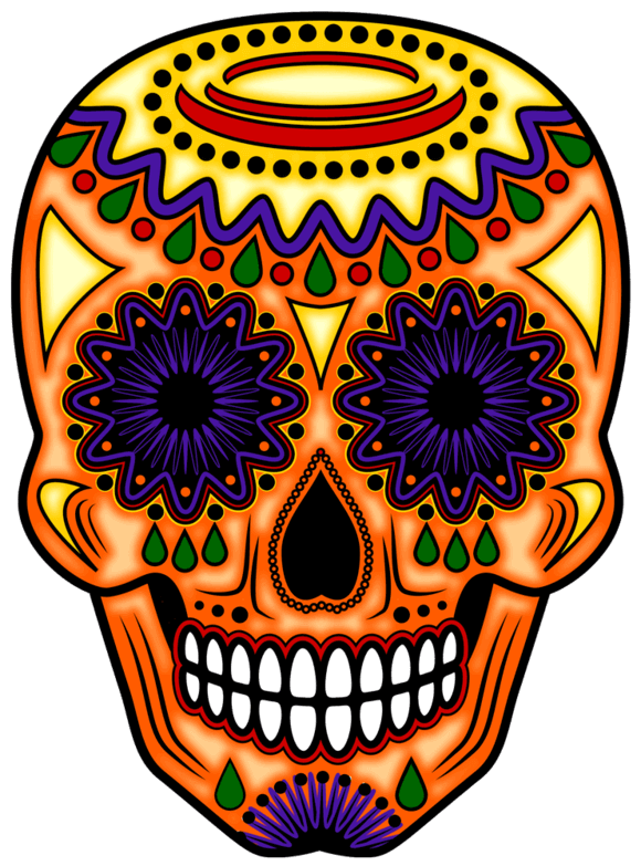 jpg royalty free download Day Of The Dead Art
