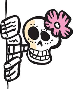 picture download Day of the dead. Dia de los muertos clipart simple