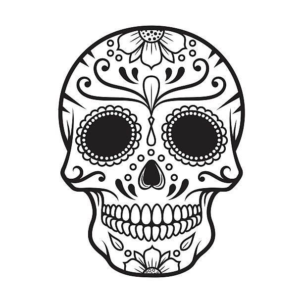 download Image result for black. Dia de los muertos clipart simple