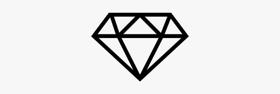 picture freeuse stock Diamonds clipart. Diamond outline small .