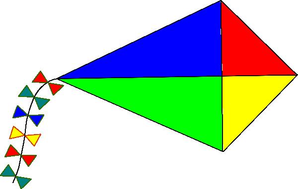 clip black and white Clipart kite. Diamond free on dumielauxepices