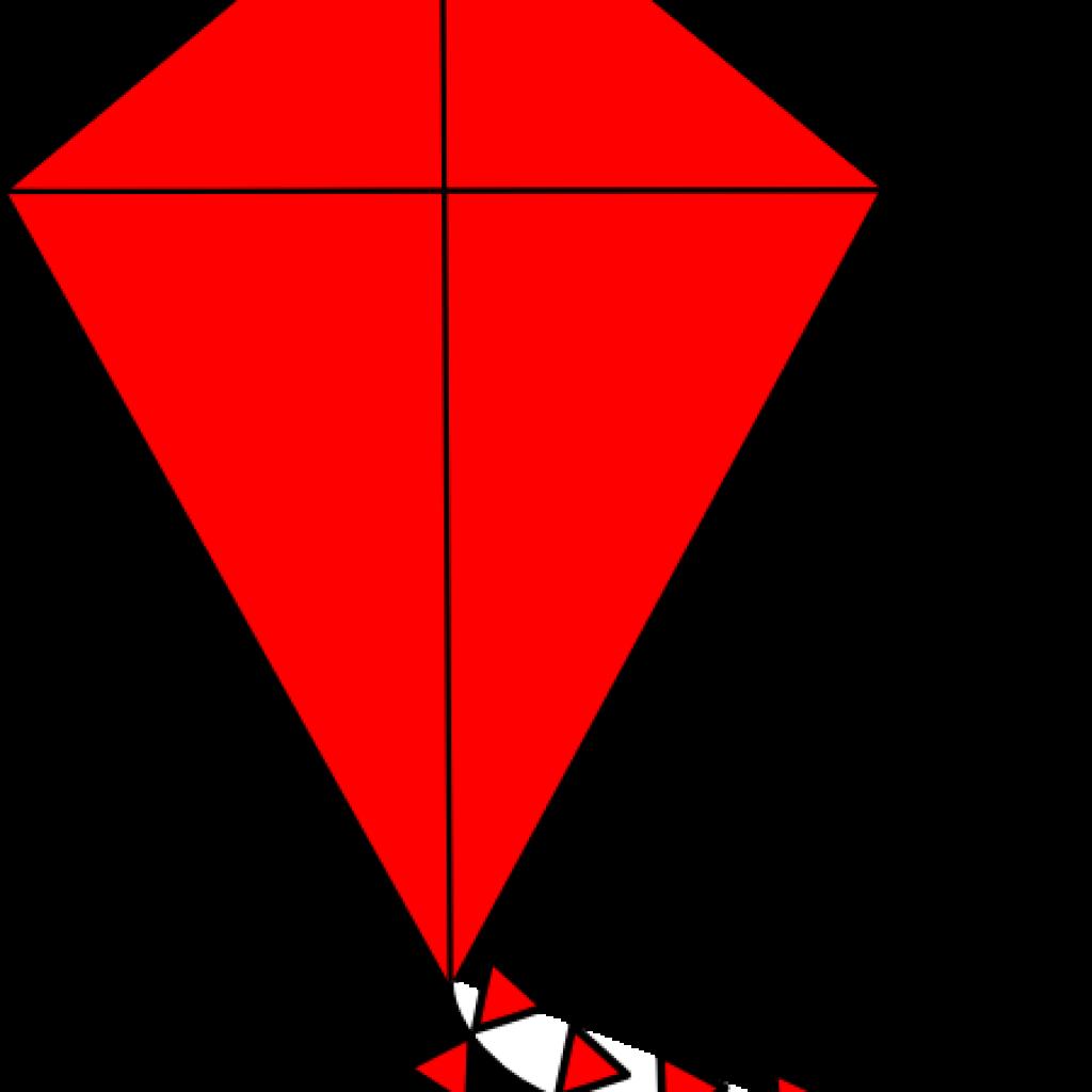 library Red orange free on. Diamonds clipart kite
