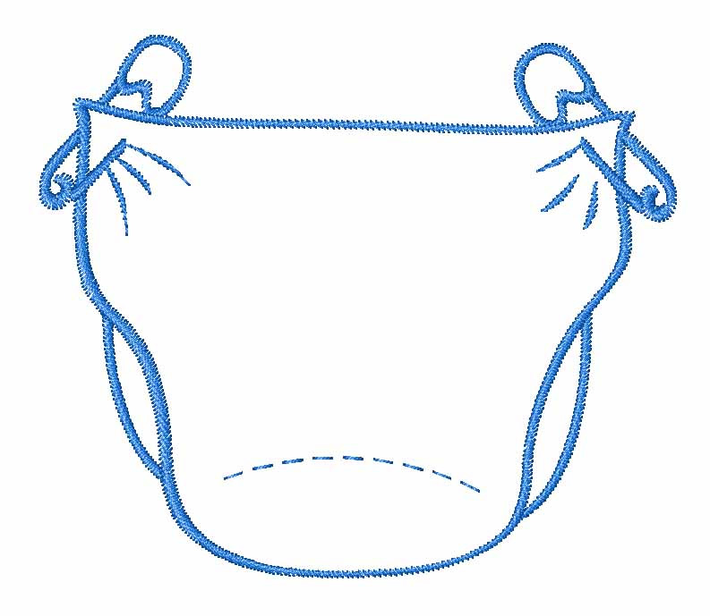 graphic Diapers clipart. Free baby cliparts download.