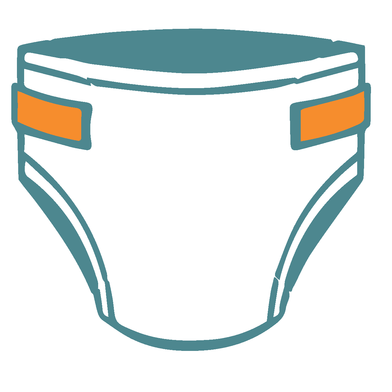 graphic stock diapers clipart briefs #32657618