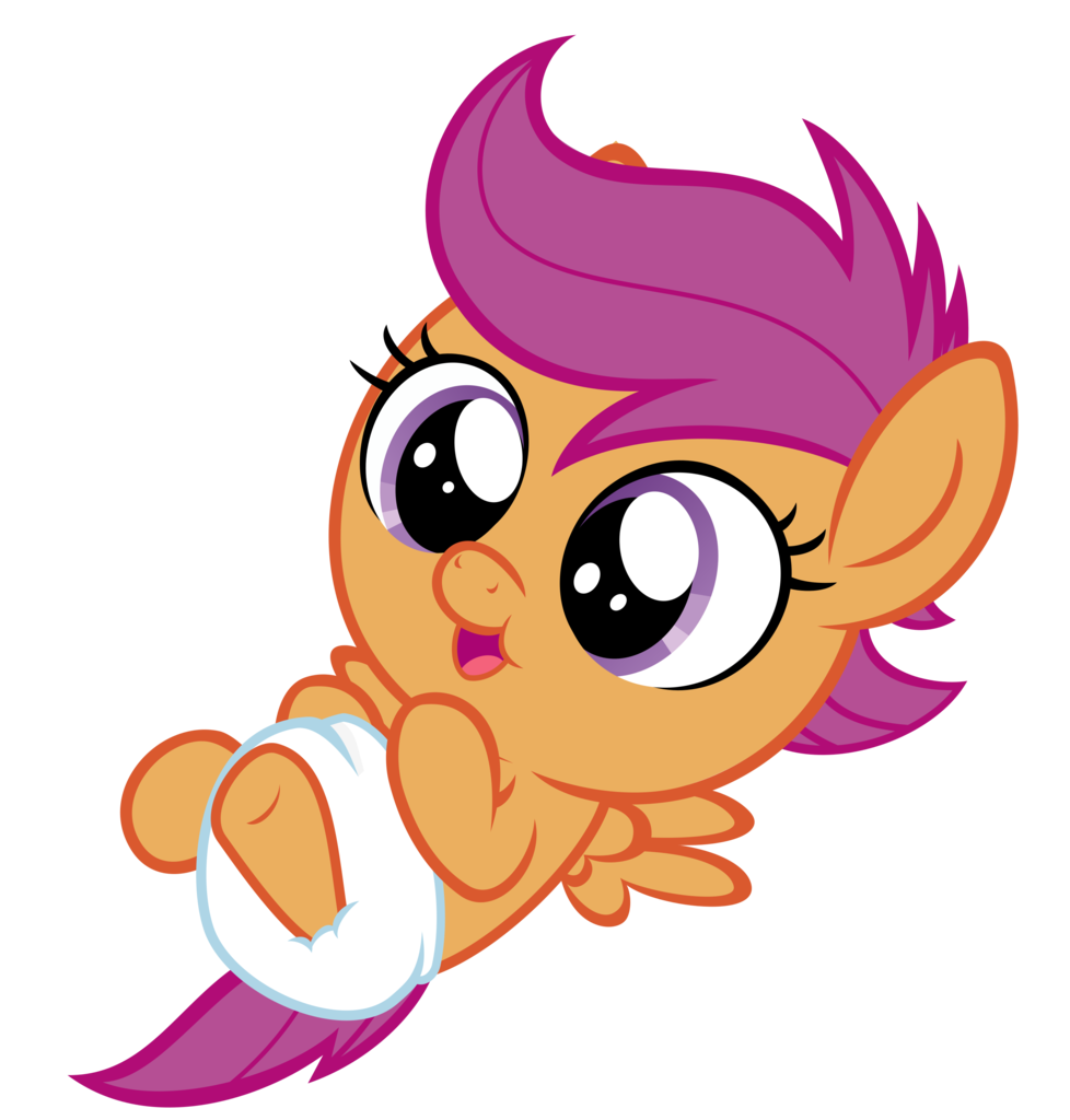 royalty free library  artist sollace pony. Vector baby cute