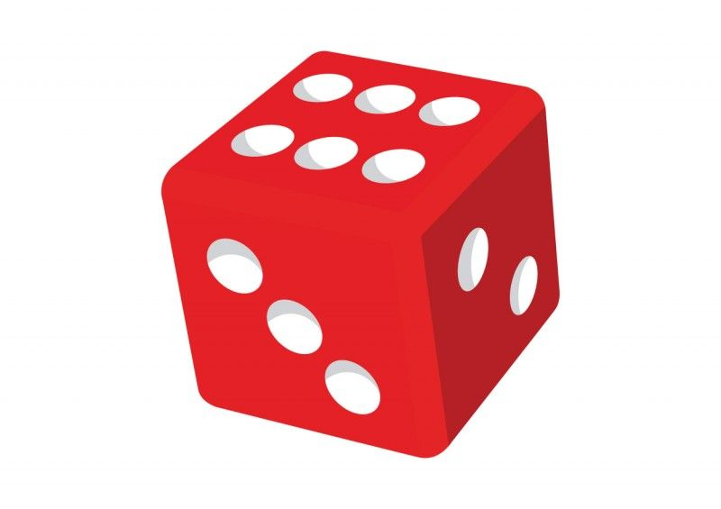 clip art freeuse download Dice clipart. Red games free images