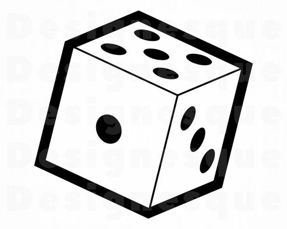 graphic library Svg rolling files for. Dice clipart