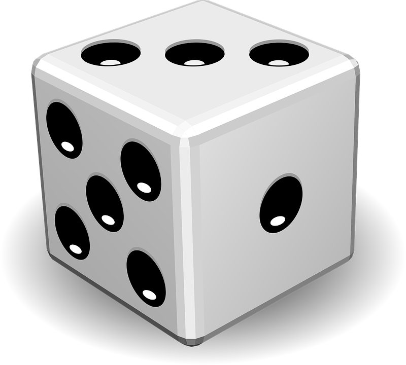 clip art free library Dice clipart hard object