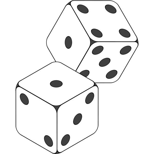 clipart free library Dice svg coloring. File icon liked on
