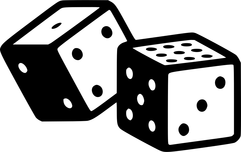 banner transparent library Dice Gambling Svg Png Icon Free Download