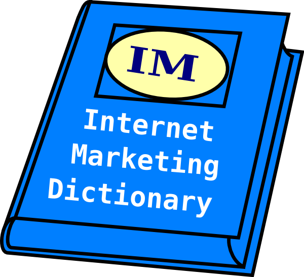 freeuse download Dictionary clipart. Internet marketing clip art.