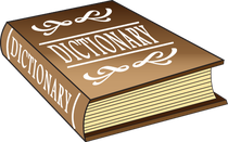 jpg freeuse library College guide to terms. Dictionary clipart.