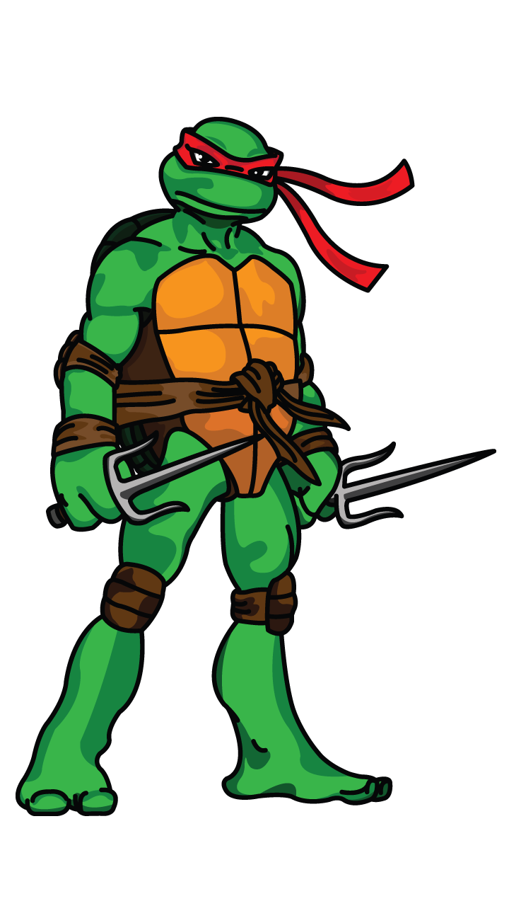 picture transparent library Drawing technique manual. Raphael tmnt tutorial http