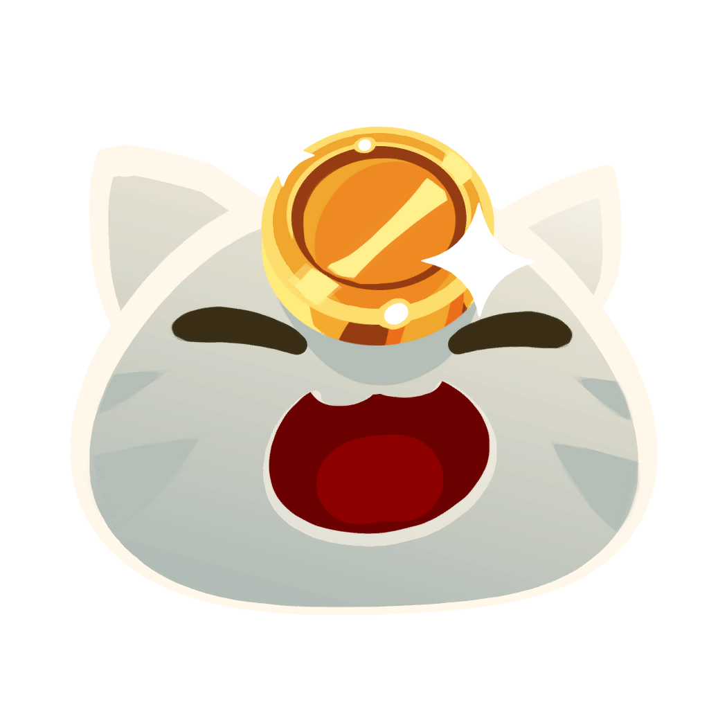 clip transparent stock Lucky Slime