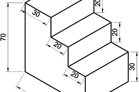black and white download easy isometric drawing with dimension